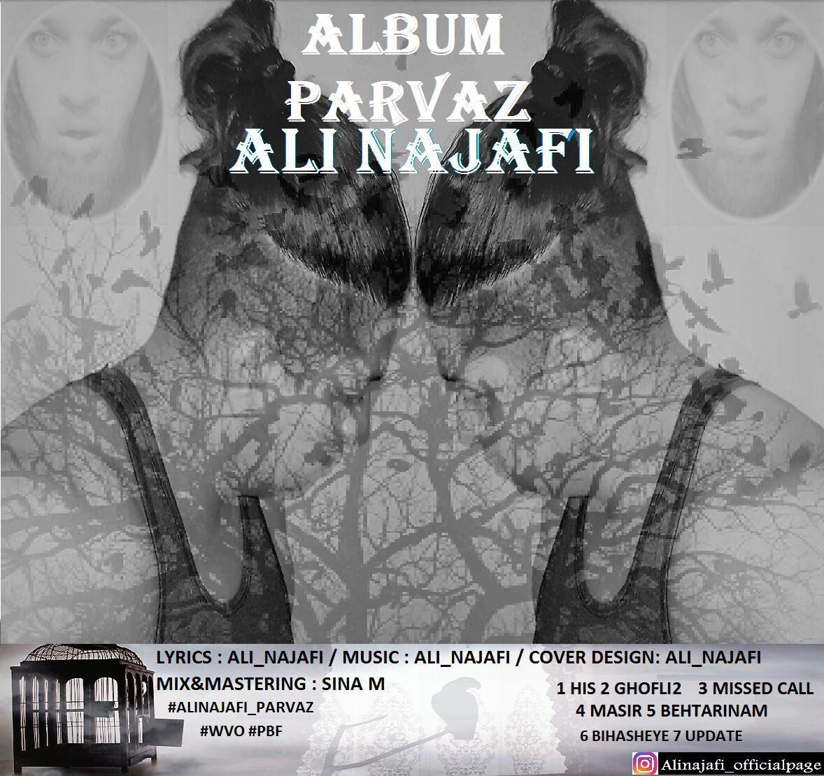 دانلود آلبوم جدید علی نجفی به نام پرواز